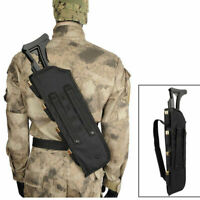 "19"" Tactical Shotgun Scabbard Bag Molle Rifle Shoulder Sling Case Padded Holster"
