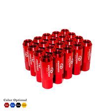 20x Aluminium Écrous de roue/lugnuts m14 x 1.5 anodisé rouge
