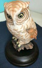 "Screech Owl - Otus Asio ""On the Alert"" Goebel Collection Club 5"" tall #1889"