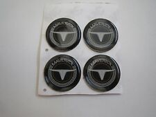 FORD MAVERICK AND MAVERICK GRABBER VINTAGE LOGO WHEEL RIM CENTER CAP EMBLEMS 4x