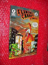 Flaming Carrot Comics #25 comic 1991   turtles