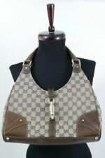Gucci Nailhead Bardot - Hobo, double G monogram, code - Authentic!