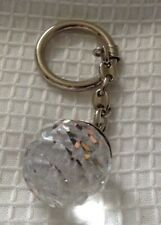 Swarovski Crystal Ball Faceted Key Ring
