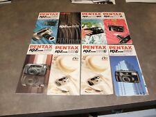 16 Vintage Pentax 35MM, APS and Digital Camera Brochures