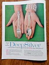 1957 Holmes & Edwards Deep Silver Ad   Silverware