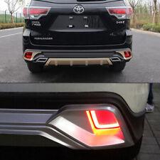 For Toyota Highlander 2014-2018 LED Rear Bumper Tail Brake Reflector Light Lamp