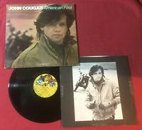 John Cougar – American Fool    1982:Riva RVL 7501 *CRC Pressing Vinyl VG++ copy