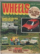 Wheels 1977 Jun Land Rover vs Patrol vs Toyota Land Cruiser vs Jeep Celica Liftb