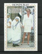 25107) HONDURAS 1997 MNH** Nuovi** Diana & M. Teresa S/S