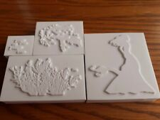 4 x La Blanche stamps mermaids and sea new