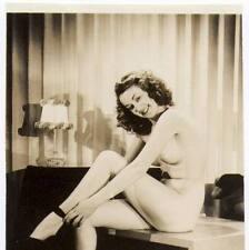 Akt Vintage Foto - leicht bekleidete Frau aus den 1950er/60er Jahren(110) /S200