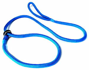 Kjk Ropeworks Braided Slip Lead Blue 8mm X 150cm