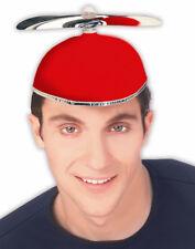 Nerds Animal House Costume Red Student Propeller Beanie Hat