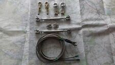 Land rover 90 110 Bushcables The stainless steel set manufacturd Bushcables.com