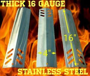 "Sams Club Members Mark Hybrid Grill 16""X4"" Stainless 16ga Flame Tamer Plates Set"
