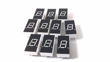 """10 LITE-ON LED DISPLAY DIGITAL 7 Segment 0.79"""" 10 Pin 1-BIT RED LTS315R Numeric"""