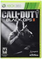 Call of Duty Black Ops II 2 Microsoft Xbox 360 Video Game Complete