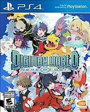 Digimon World: Next Order (Sony PlayStation 4, 2017) BRAND NEW SEALED IN PLASTIC