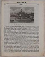 ALBUM DI ROMA 1843 CINA PECHINO ARCHITETTURA SAPPA CID