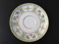 Vintage Eschenbach Bavaria Baronet LOUVRE Bone China SAUCER Germany for teacup