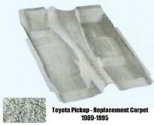 Toyota Regular Cab Pickup  Molded Carpet Replacement Kit 2/4 Wheel Drive 1989-95