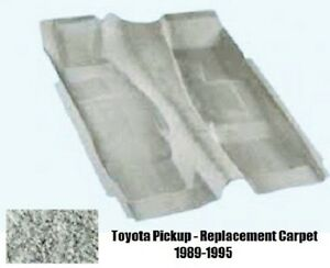 ACC Replacement Carpet Kit for 1989 to 1995 Toyota Standard Cab Pickup Truck, 89-Early 95 802-Blue Plush Cut Pile