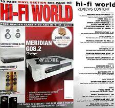 HI-FI WORLD CYRUS CREEK ICON AUDIO PRIMA LUNA MERIDIAN G08.2 DYNATRON TANNOY DC4