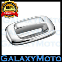 99-06 GMC Sierra 1500+2500+3500 Triple Chrome Plated ABS Tailgate Handle Cover