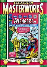Marvel Masterworks THE AVENGERS Nos. 1-10 Hardcover (1997) VARIANT COVER