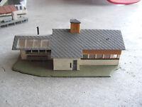 Vintage HO Scale Faller Passenger Station Building LOOK