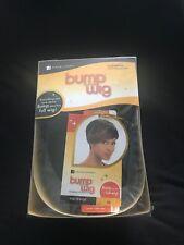 Sensationnel Human Hair Bump Collection Wig - Fab Fringe - Off Black