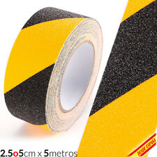 Band Band Strip Adhesive Non Slip Security Black Yellow anti Slip Tape