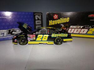 1/24 RICKY RUDD #28 HAVOLINE  2002 ACTION NASCAR DIECAST