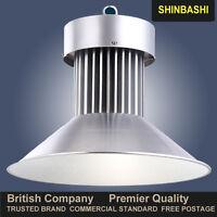 LED High Bay Light COB 100,120,150W Warehouse Commercial Industrial Lamp VAT UK