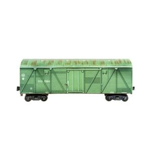 Boxcar Railway RUSSIA HO Scale 1/87 Locomotive Model Kit Cardboard 3D Puzzles