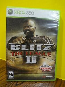 XBOX 360 BLITZ: THE LEAGUE II 2 (Midway, 2008) CIB VGC ~FAST S/H~