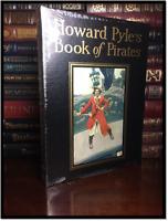 Howard Pyle's Illustrated Book of Pirates Sealed Easton Press Leather Hardback