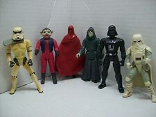 LOT of Six 1983-1997 Star Wars 3.75 inch Action Figures