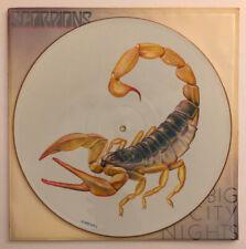 Scorpions - Big City Nights - 1984 UK Picture Disc (NM) Ultrasonic Clean