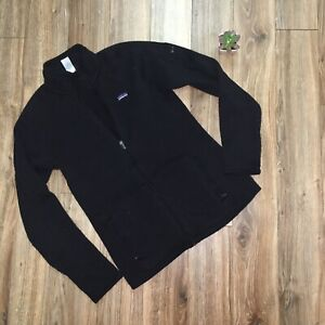 Patagonia Womens Better Sweater Full Zip Jacket Black Size M PILLY