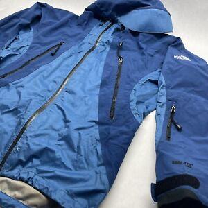 Vintage the North Face Gore-Tex XCR summit series jacket men's Medium blue Hood