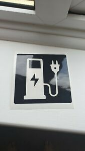 Electric Car Charging Point Sign business vinyl various colours available