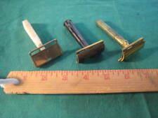 Vintage Lot of 3 Razors Gem and Gillette