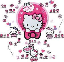 Wand Leuchte Hello Kitty NEU OVP Schlummer Licht Sound Aktivierung Lampe Sticker