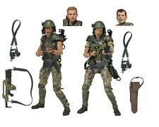 """NECA Aliens7"""" Scale Action Figures Colonial Marines Hicks & Hudson 2-Pack in box"""
