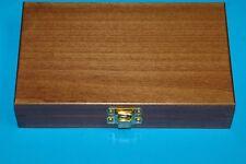 Wooden Decorative Trinket Jewelry Storage Box - Vintage Treasure Case