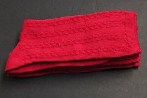 4 Women's Cable knit anklet Casual Dress Socks 9-11 sz4-10 reinforced H/T H Pink