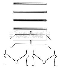 Brake Pad Fitting Kit BBK1214 Borg & Beck 0441129000 Genuine Quality Replacement