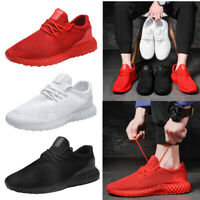 Men Running Shoes Breathable Athletic Casual Sneakers Sport Tennis Walking Gym