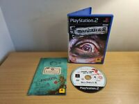 PLAYSTATION 2 - PS2 - MANHUNT 2 - COMPLETE WITH MANUAL - FREE P&P - RARE